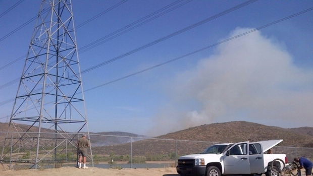 [G] Brush Fire Sparks Near Santee Lakes