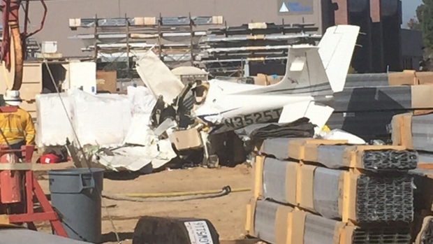 Images: Fatal Plane Crash in Santee