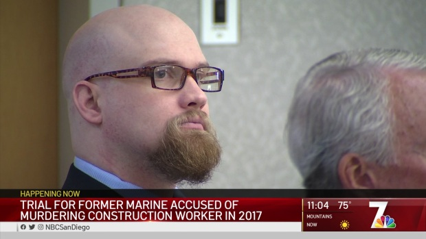 Testimony Underway Against Marine Veteran Charged With Murder
