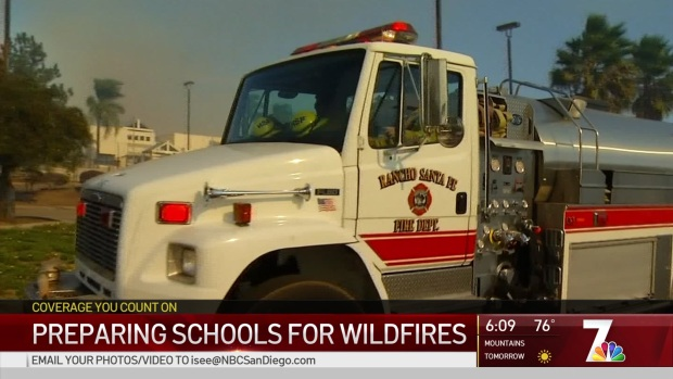 Preparing Schools for Wildfires