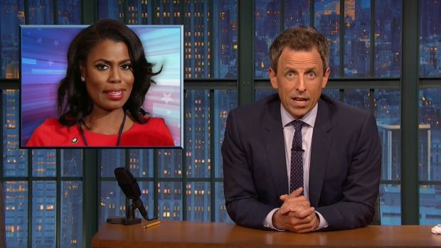[NATL] 'Late Night': A Closer Look at Omarosa, Giuliani Causing Problems for Trump