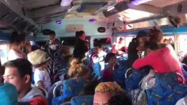 [DGO] Second Caravan Arrives in Tijuana