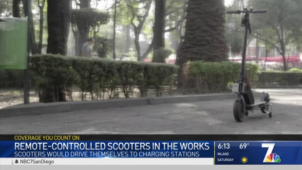 Self-Driving Scooters Could Come to San Diego