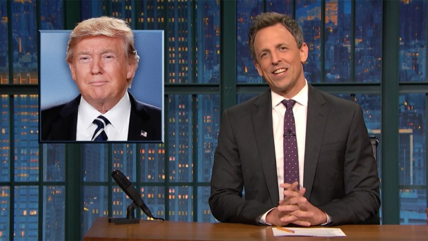 [NATL] 'Late Night': Closer Look at Trump's Working Vacation