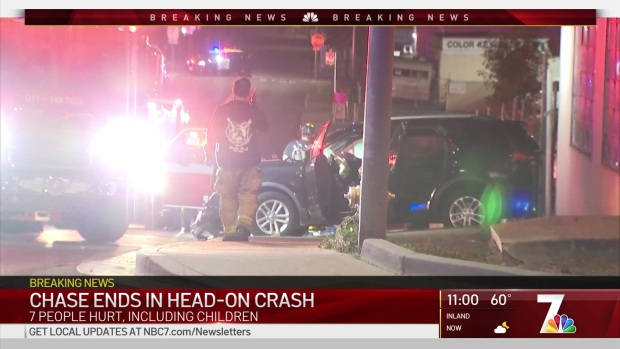 [DGO] Several Injured When Pursuit Suspect Slams Into Minivan