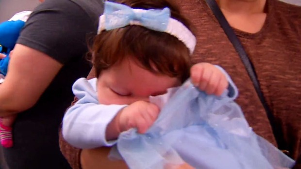Babies Parade in Halloween Costumes at Sharp Hospital