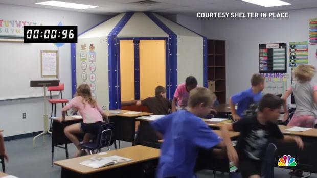 [NATL] Start-Up Create Bulletproof Shelters for Classrooms