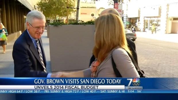[DGO] Gov. Brown Talks Budget in San Diego