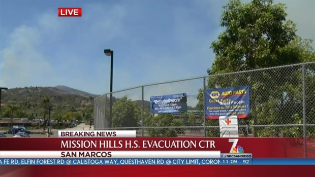 [DGO] San Marcos Fire Evacuation Center