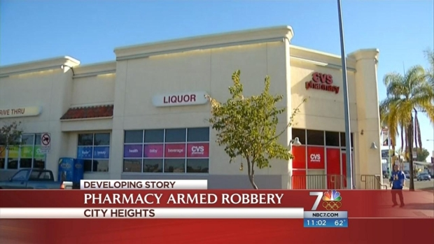 [DGO] Robber Steals Prescription Drugs from CVS