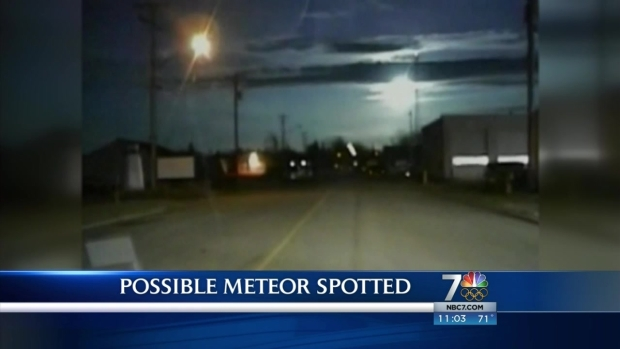 [DGO] Object in Santee Sky May Have Been Meteor