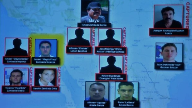[DGO] Sinaloa Cartel Leader, Sons Indicted