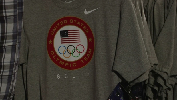 [DGO] Sochi 2014 Olympics Gear Fills Team USA Store