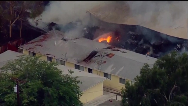 [DGO] Fire at Spring Valley Recycling Center Threatens Homes