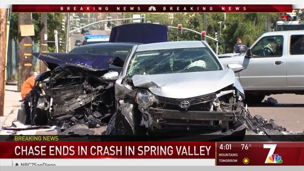 [DGO] Spring Valley Pursuit Ends in Crash