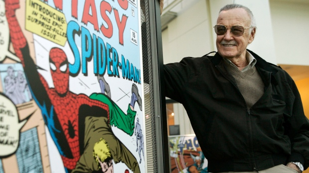 [NATL] Marvel Comics' Stan Lee Dies at 95