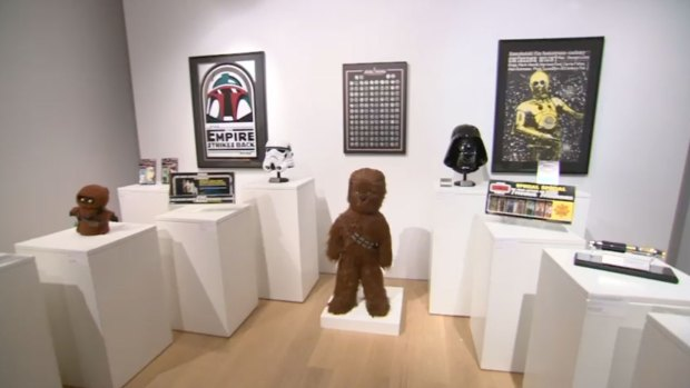 'Star Wars' Auction at Sotheby's