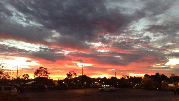 [G] December Brings Spectacular San Diego Sunrises, Sunsets