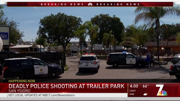 [DGO] Suspect Killed in Officer-Involved Shooting In San Ysidro