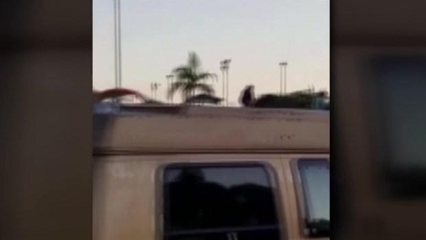 Kids Run From Shooting Scene in Linda Vista