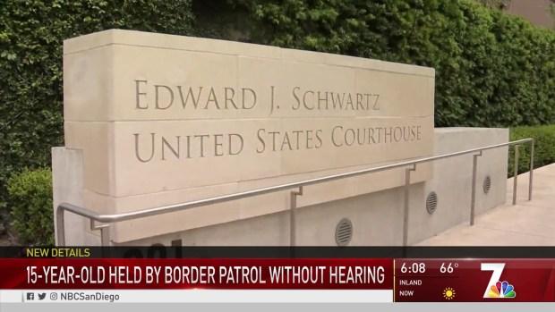 [DGO] Teen Held at Border Patrol Facility for 7 Days