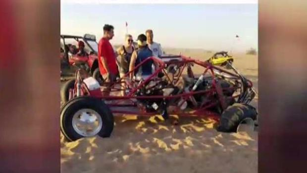 Teen Injured in Sand Buggy Crash Speaks Out