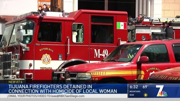 Tijuana Firefighter Under Investigation for Killing of Chula Vista Mother