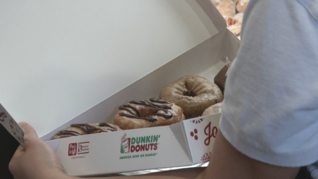Dunkin' Donuts Opens to Huge Crowds and Rave Reviews