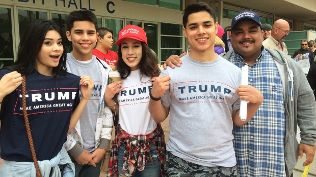Donald Trump Rallies in San Diego