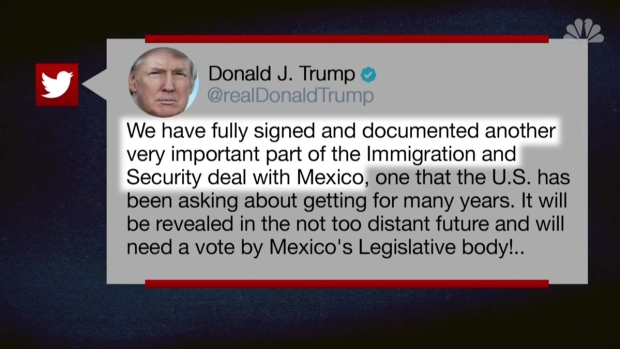 [NATL] Trump Defends Tariff Deal With Mexico