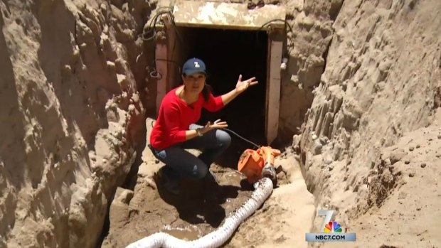 Go Inside Secret Border Tunnel Near San Diego