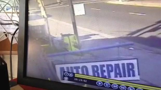 [DGO] Caught on Camera: Sheriff's Deputy Hits Pedestrian in Wheel Chair