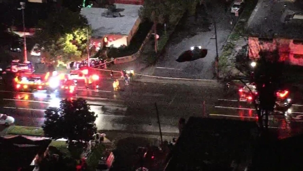 See It: Cars Plunge Into Los Angeles Sinkhole