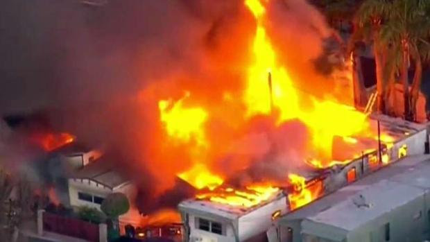 [DGO] Two Fires Start One Block Apart in Chula Vista