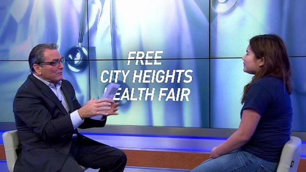 UCSD Students Host City Heights Health Fair