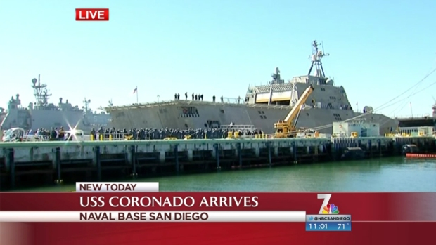 [DGO]USS Coronado Arrives in San Diego