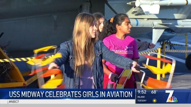 USS Midway Celebrates Women in Aviation