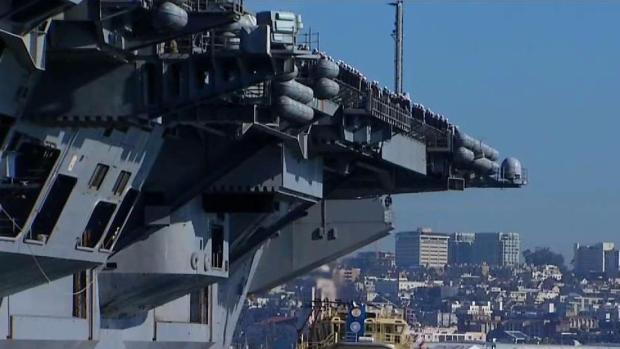 USS Vinson Deploys From San Diego