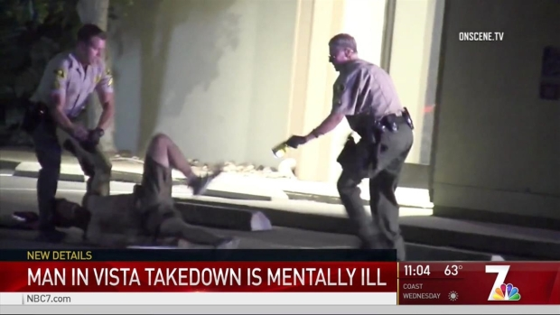 [DGO] Man in Vista Deputy Confrontation Is Mentally Ill: Ex-Wife