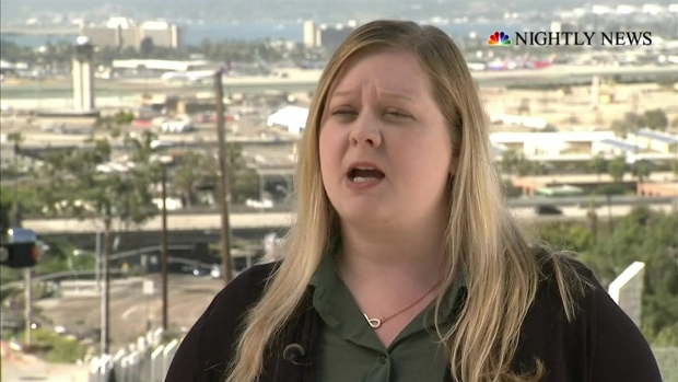 [NATL] Mother of TSA-Screened Teen Speaks to 'Nightly News'