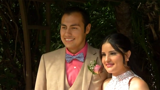 Couples say 'I do' and 'I do -- again' at Valentine's Day ceremony