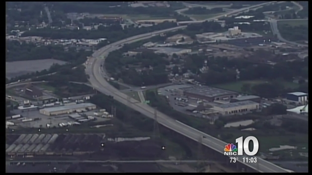 [PHI] 911 Call Made About Tilting I-495 Bridge Weeks Ago