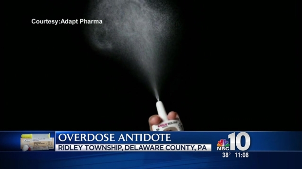 [PHI] Delco to Equip Officers With Nasal-Spray Drug Antidote