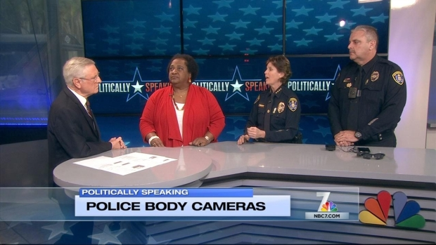 Politically Speaking: Police Body Cameras