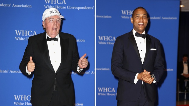 [NATL] Celebrities and Journalists Attend the Trump-Less White House Correspondents' Dinner