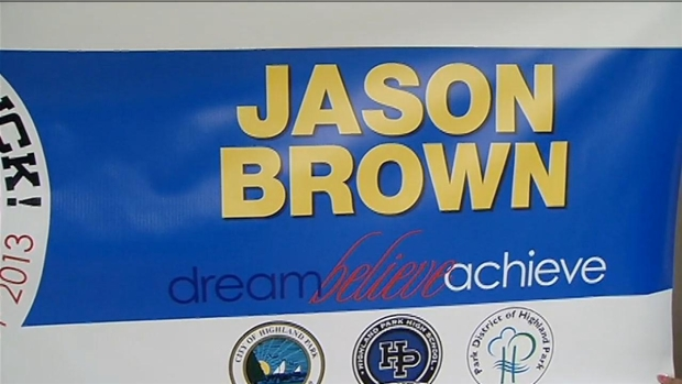 "[CHI]Highland Park Proclaims ""Jason Brown Day"""