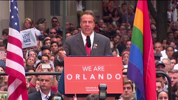 [NATL-NY] Cuomo at Stonewall Vigil for Orlando: Enough Is Enough