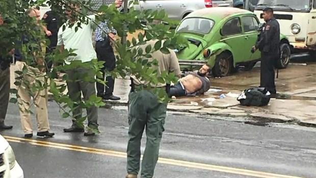 [NY] Witnesses Describe Gunshots, Chaotic Scene During Suspect Arrest