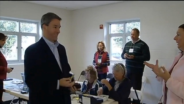 [DC]  McAuliffe, Cuccinelli Cast Votes in Va. Race