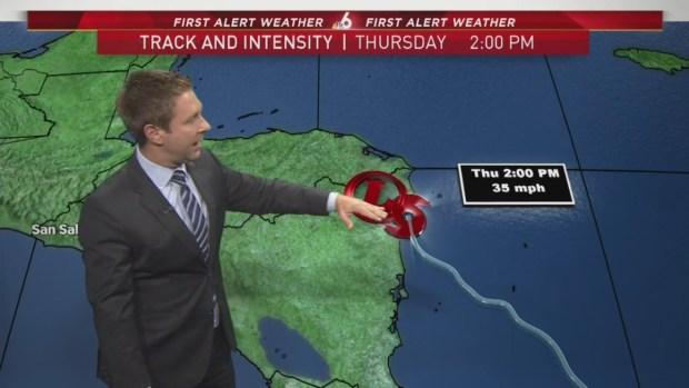 [MI] Tropical Storm Nate 8 a.m. Advisory